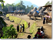 The traditional village of Bena, Ngada, Flores