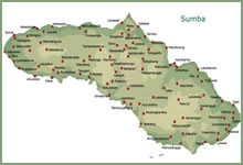 Map of Sumba Island - click to enlarge