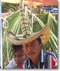 Traditional hat of Rote